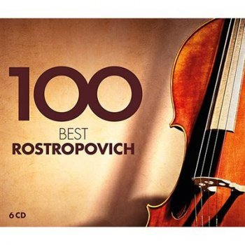 100 best rostropovich (6cd)