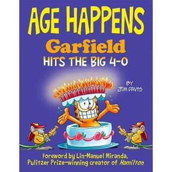 Age happens garfield hits the big 4