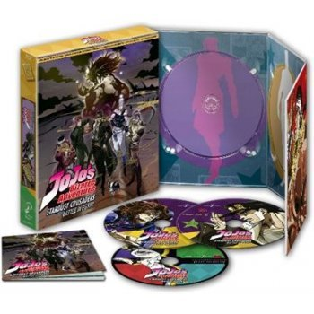 Jojo´s Bizarre Adventure - Stardust Crusaders Egypt Arc - Temporada 2 parte 3 -  Blu-Ray