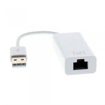 Adaptador T'nB USB 2.0 a RJ45 Blanco