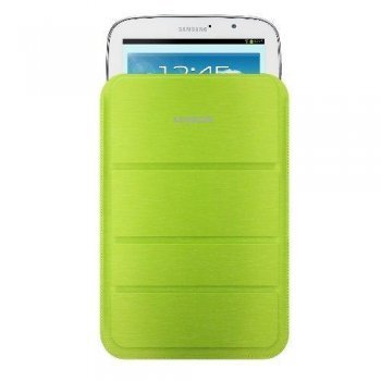 Samsung Funda pouch color verde para Galaxy Note 8
