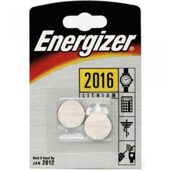 Energizer CR 2016 x2 Pila de Litio
