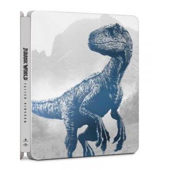 Jurassic World: El reino caído - Steelbook - UHD + Blu-Ray + DVD Extras