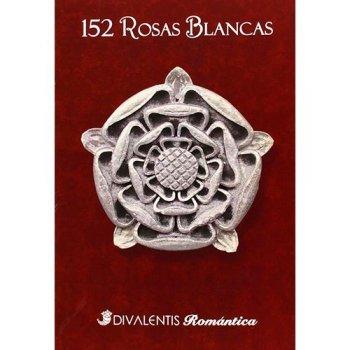 152 rosas blancas