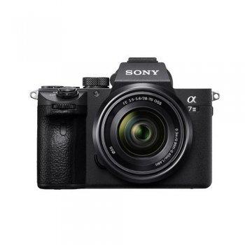 Cámara EVIL Sony A7 III + 28-70 mm Negro