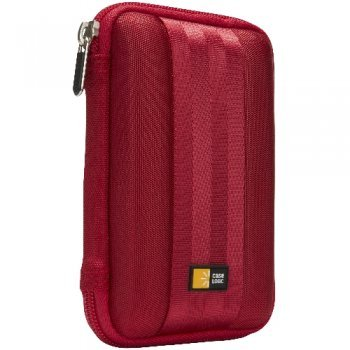 Case Logic QHDC101R color rojo Funda para disco duro portátil