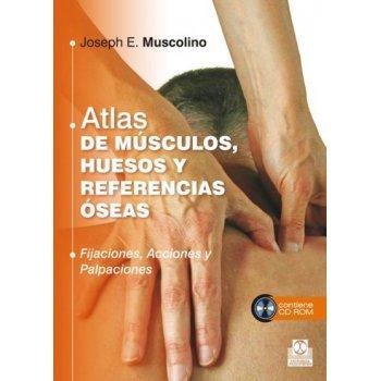Atlas de músculos, huesos y referencias óseas