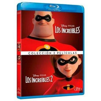 Pack Los Increíbles 1 y 2 - Blu-Ray