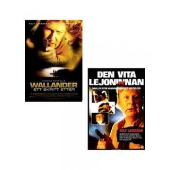 ack Wallander: Pisando Los Talones + La Leona Blanca - DVD