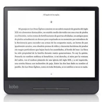 Libro electrónico E-Reader Kobo Forma 8'' Negro