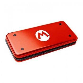 Funda aluminio Hori Logo Mario Rojo para Nintendo Switch