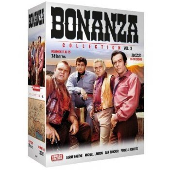 Bonanza Collection 3 - Vol 11-15 - DVD