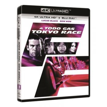 A todo gas: Tokyo Race - Fast and Furious 3  - UHD + Blu-Ray
