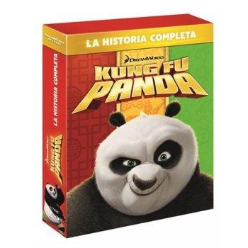 Kung Fu Panda 1-3 - Blu-Ray
