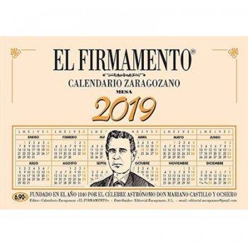 Calendario 2019 zaragozano mesa