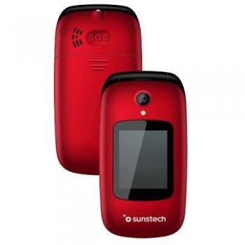 Teléfono móvil Sunstech Celt22 Rojo