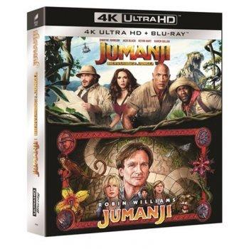 Pack Jumanji - UHD + Blu-Ray