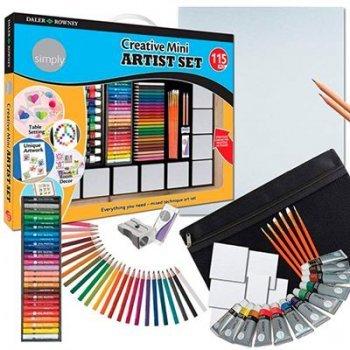 Daler-mini set creativo 115 pieza80