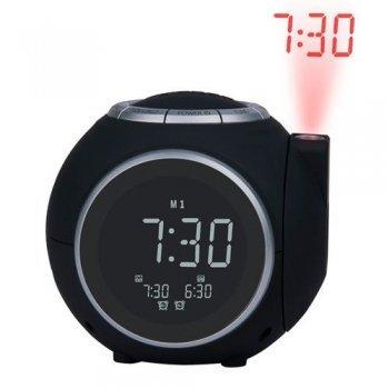 Radio despertador Dcybel ClockWise Negro