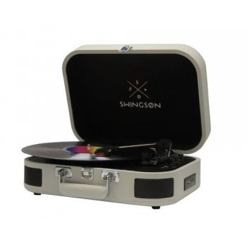 Tocadiscos Bluetooth Swingson On Stage Gris