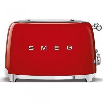 Tostador SMEG Años 50 TSF03RDEU Rojo