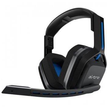 Auriculares Wireless Astro A20 Gris - Azul PS4