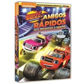 Blaze y Los Monster Machines: Amigos Rápidos- DVD