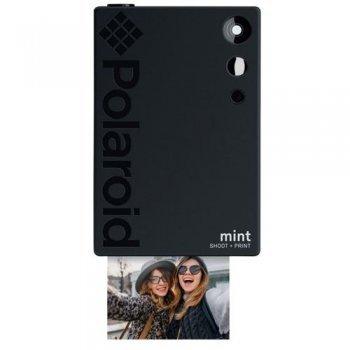 Cámara instantánea Polaroid Mint Instant Negro