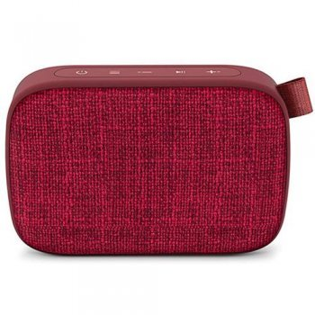 Altavoz Bluetooth Energy Sistem Fabric Box 1+ Pocket Cherry