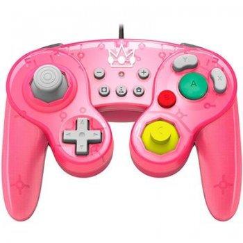Mando Hori Battle Pad Super Mario - Peach Nintendo Switch