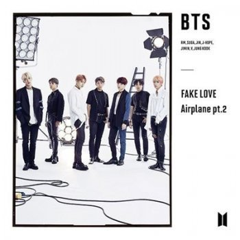 Fake Love Airplane Pt 2 versión B - CD + DVD