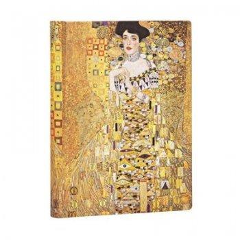 Paperblanks Libreta Midi Liso Klimt Retrato de Adele - Ed Especial