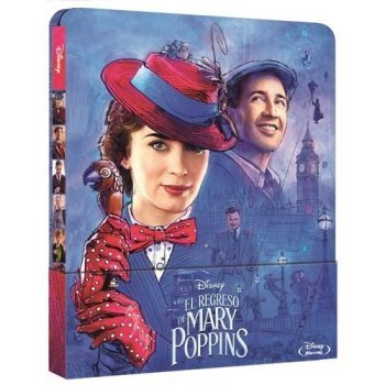 El regreso de Mary Poppins - Steelbook Blu-Ray