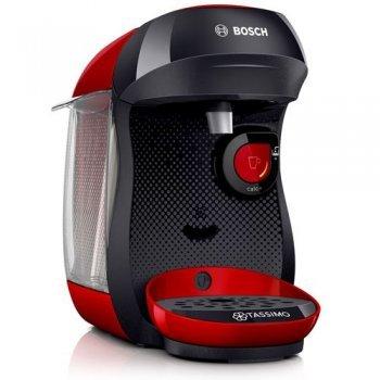 Cafetera de cápsulas Bosch Tassimo Happy Negro/Rojo