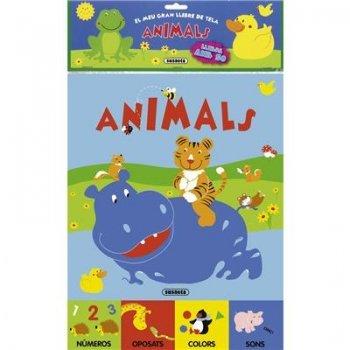Animals -el meu gran llibre de tela