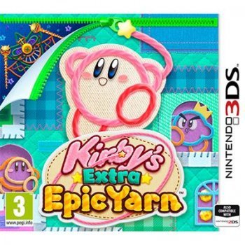 Kirby Extra Epic Yarn Nintendo 3DS
