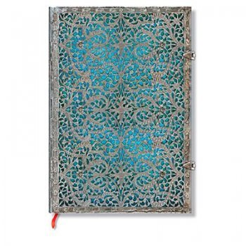 Libreta Tapa dura Azul Maya grande lisa Paperblanks