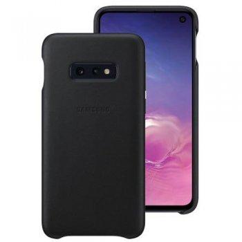 Funda de cuero Samsung para Galaxy S10e Negro