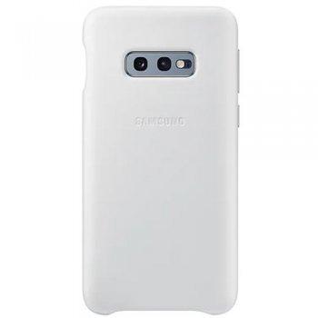 Funda de cuero Samsung Blanco  para Galaxy S10e