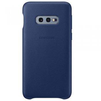 Funda de cuero Samsung Azul Navy para Galaxy S10e
