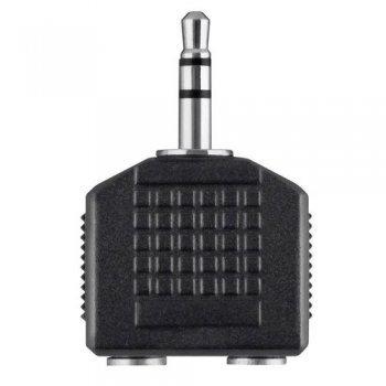 Adaptador Belkin audio estéreo 3?5 mm a 2 X Estéreo 3 ? 5 mm, M/F