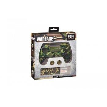 Kit accesorios de silicona Indeca Warfare para PS4