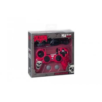 Kit de accesorios Indeca Demon para PS4 Demon