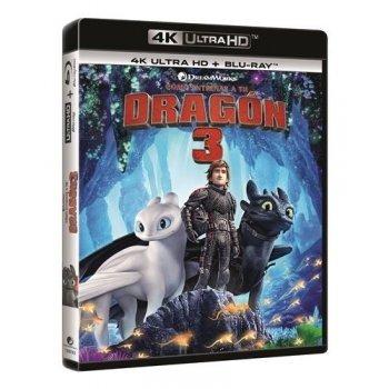 Cómo entrenar a tu dragón 3 - UHD + Blu-Ray