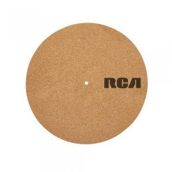 Patinador de vinilos RCA Cork Turntable Mat 12