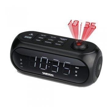 Radio despertador con proyección Daewoo DCP-490
