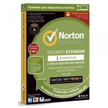 Norton Security Estándar Wi-Fi Privacy VPN 1 Año 1 Dispositivo