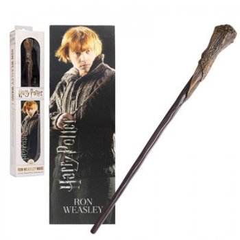 Réplica Harry Potter: Varita Ron Weasley  + Marcapáginas