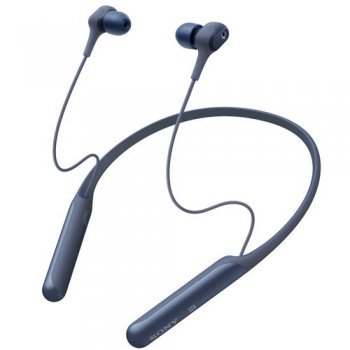 Auriculares Noise Cancelling NFC Sony WI-C600N Azul