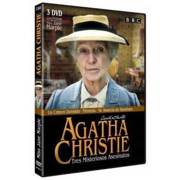 Agatha Christie. Tres misteriosos asesinatos - DVD